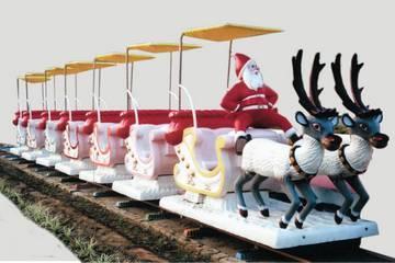 Santa coach train 1